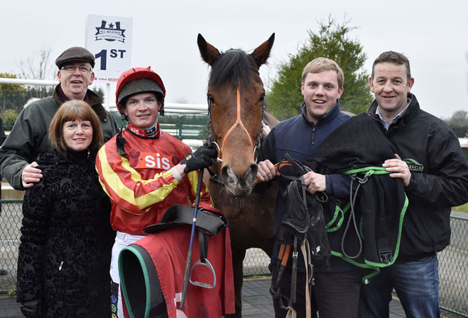 The Firm Winning at Southwell